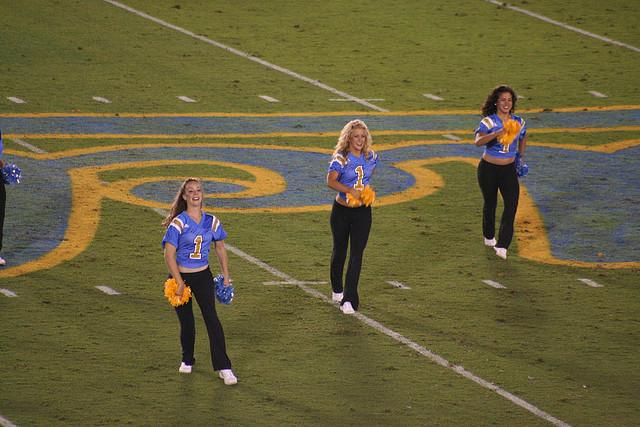 Cheerleaders by JMR Photography