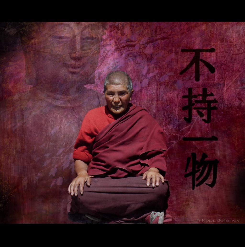 No hace falta ser como este buen hombre para meditar.