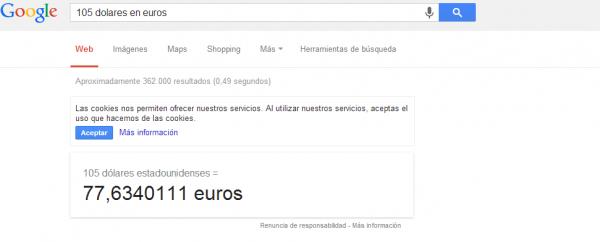 conversor google