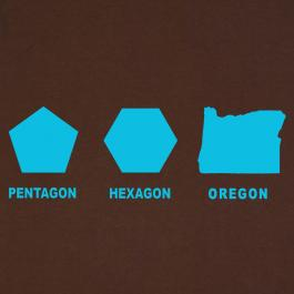 Pentagon, Hexagon, Oregon by Lonely Dinosaur