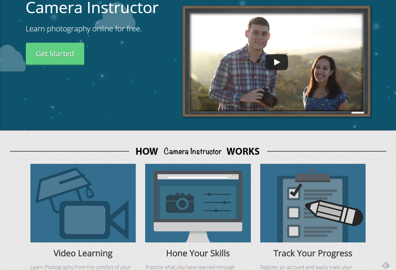 Camera Instructor Free Online Photography Courses