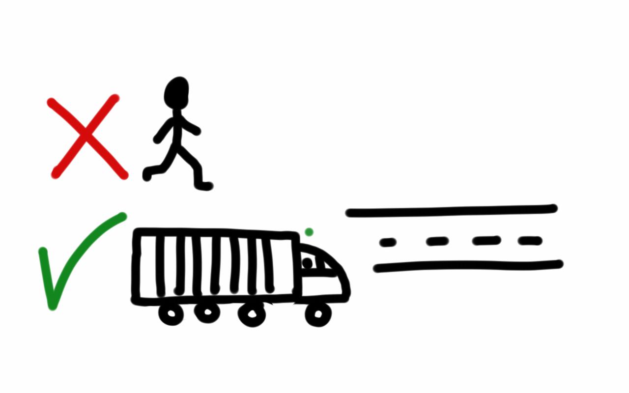 La vida es como ir en camión