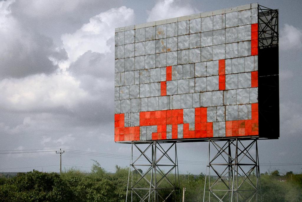 No creo que sea un anuncio del Tetris.