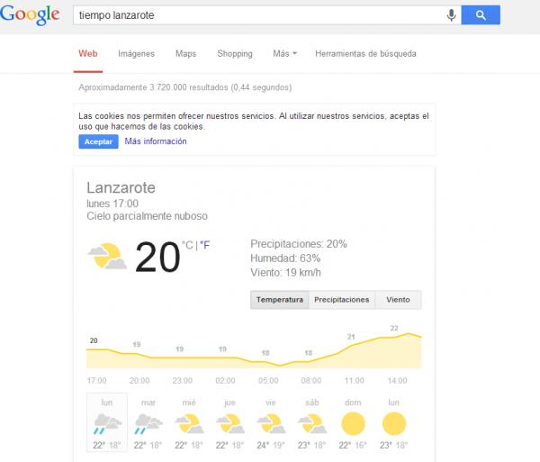 buscar tiempo google
