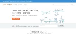 Las 7 mejores páginas de cursos online Skillshare