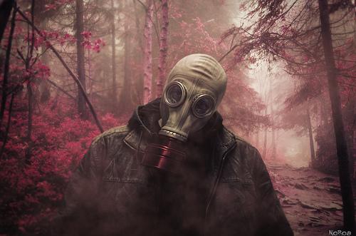 No, no hablo de esta máscara