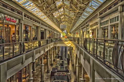 La importancia de la acción, la metáfora del centro comercial