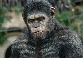 César el líder de los simios del amanecer del planeta de los simios.