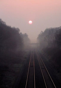 Dawn Mist on the Chiltern Line by Andy
